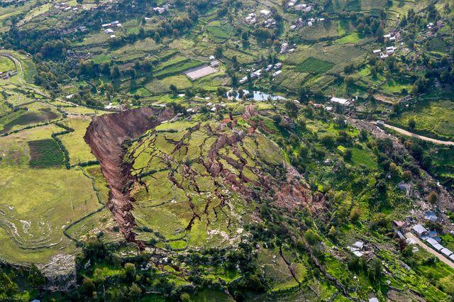 Peru Cusco 2018 Landslide
