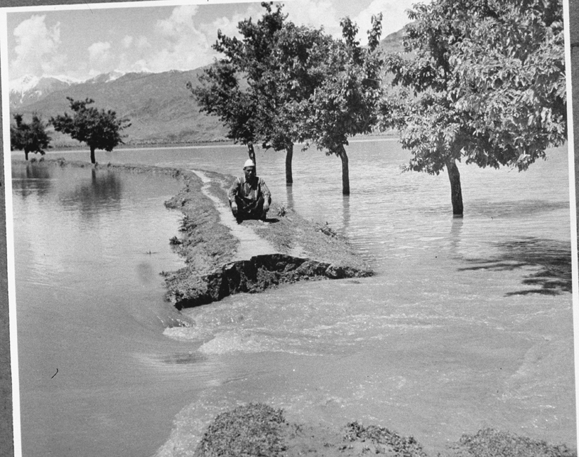 Flood Kashmir - 1957